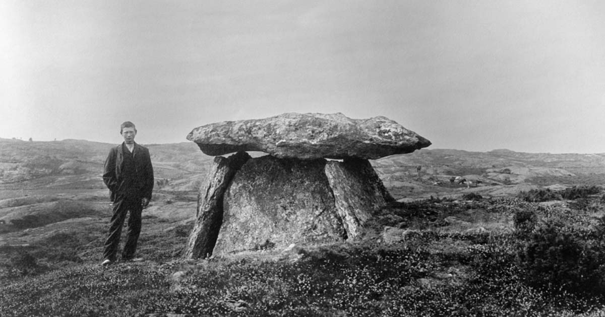 The Haga Dolmen, Bohuslän, Sweden