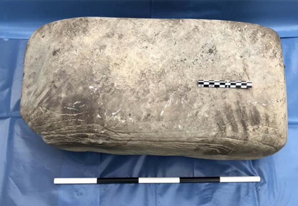 Scottish media is reporting a remarkable find of hand and knee prints that may have belonged to an individual from an enigmatic civilization. It is believed that the prints are those of a Pictish smith and were discovered in the remains of his workshop. The find was uncovered in the island of Rousay in the Orkney Islands off the Northern coast of Scotland.
