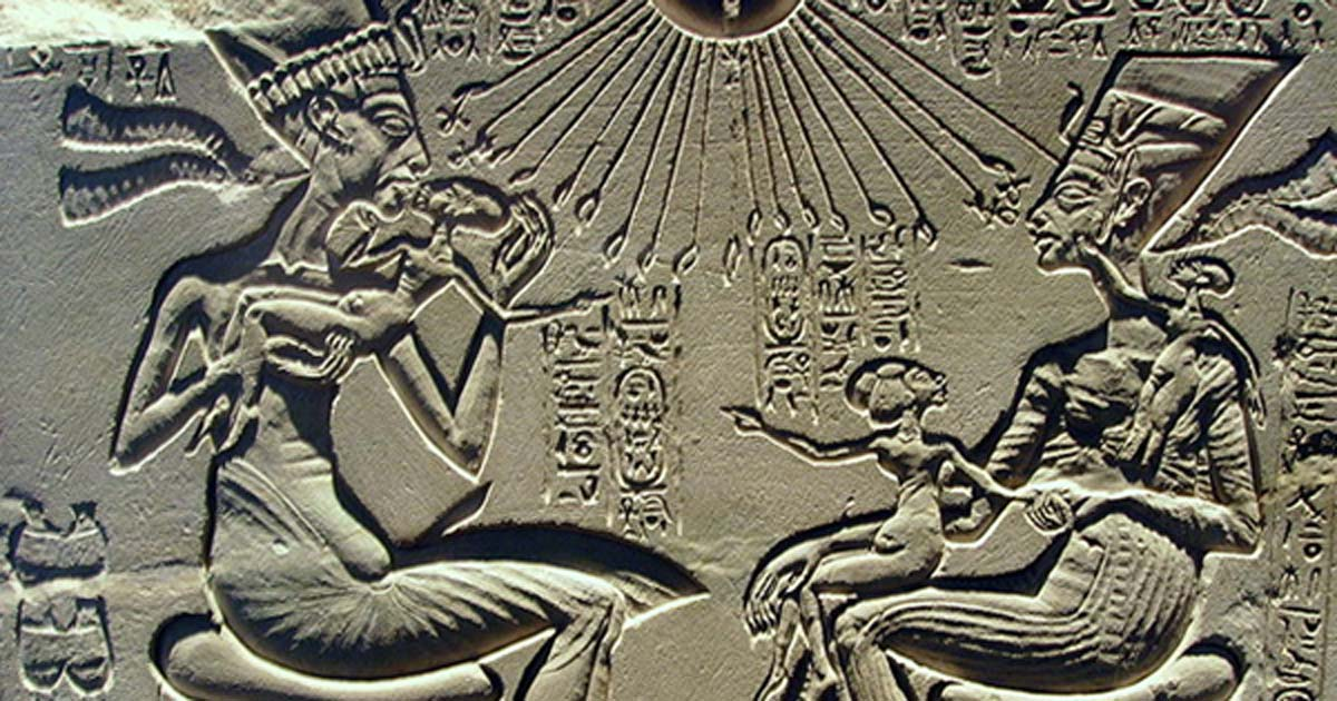 Was the Heretic Pharaoh Akhenaton in Fact the Father of Modern Monotheism?