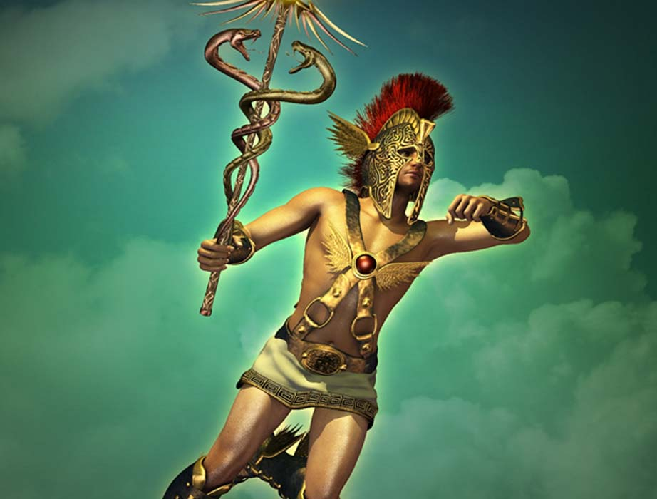 Hermes, messenger of the gods (Atelier Sommerland / Adobe Stock)