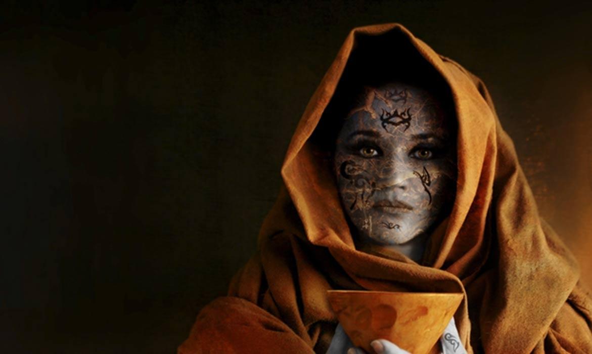 Representational image of high priestess and poet Enheduanna.