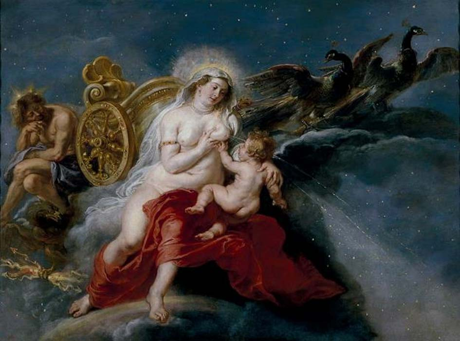 'The Birth of the Milky Way' (1636-1637) by Peter Paul Rubens.