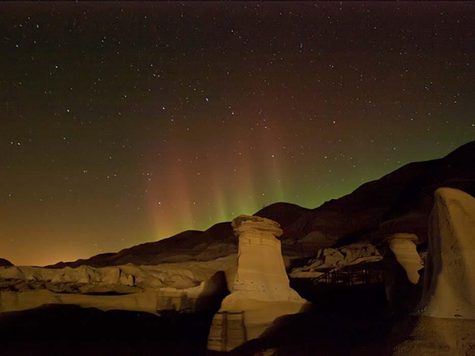 Hoodoo Aurora Borealis.