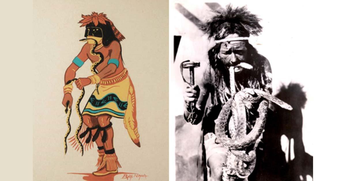 hopi indians serpent ile ilgili görsel sonucu