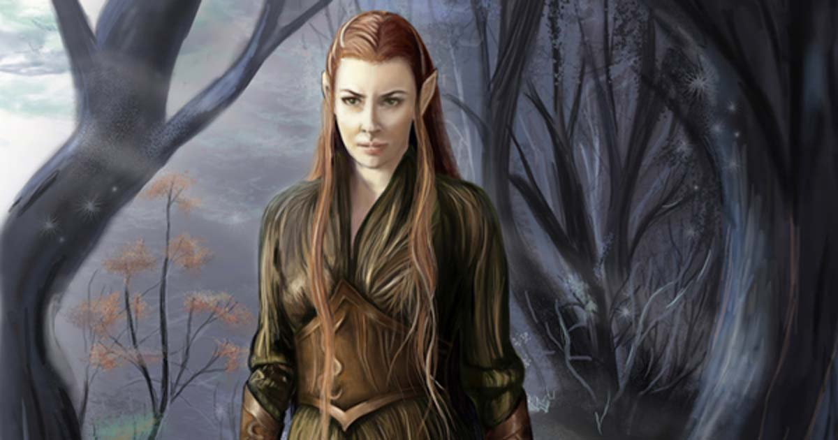 Tauriel daughter of Mirkwood from Lord of the Rings