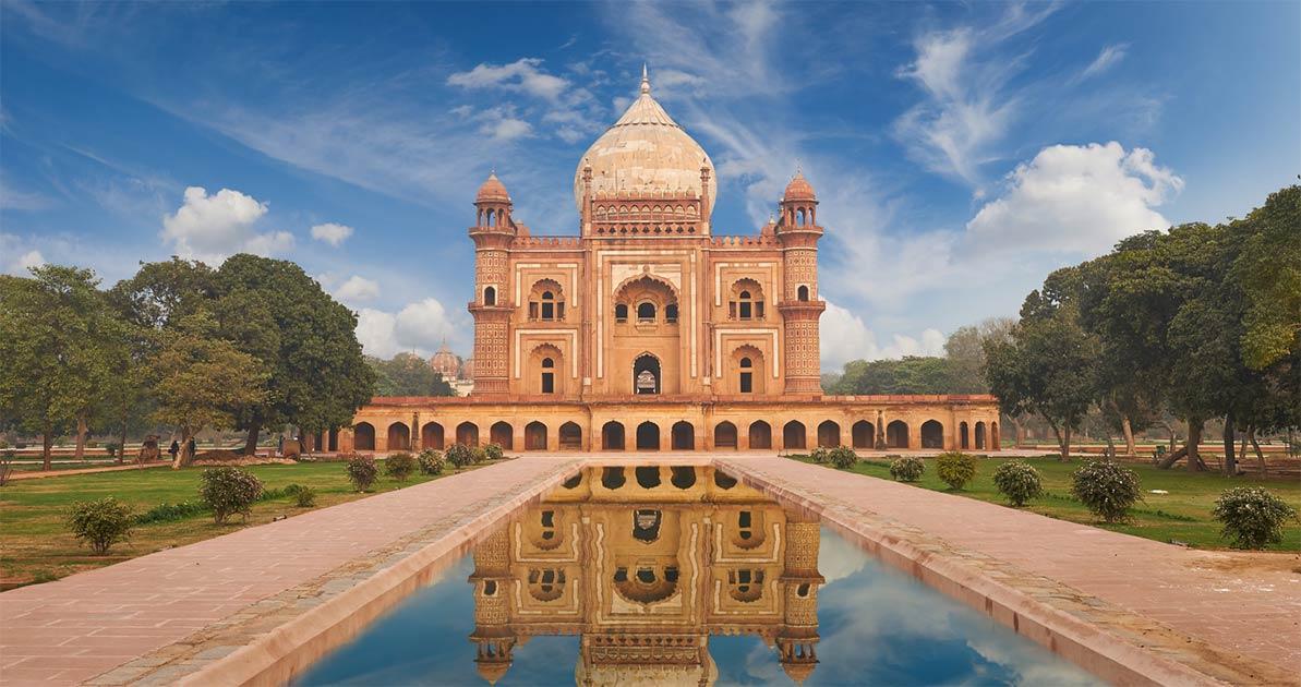 Humayun's Tomb, Delhi                   Source:  jura-taranik / Adobe Stock