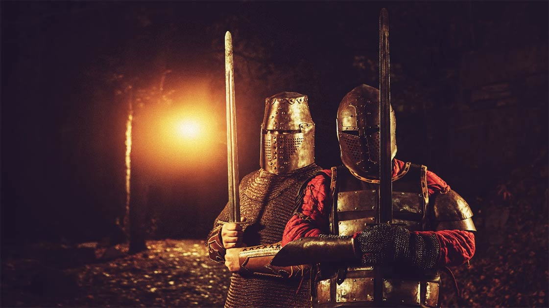 The Hundred Years' War was a conflict between French and English kings. Source: diter / Adobe Stock