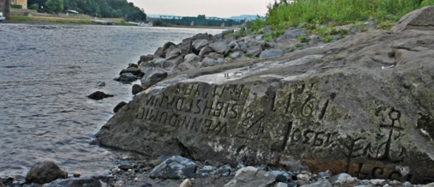 Hunger stones have been revealed in Europe
