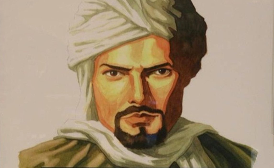 Portrait of the great Moroccan explorer Ibn Battuta.