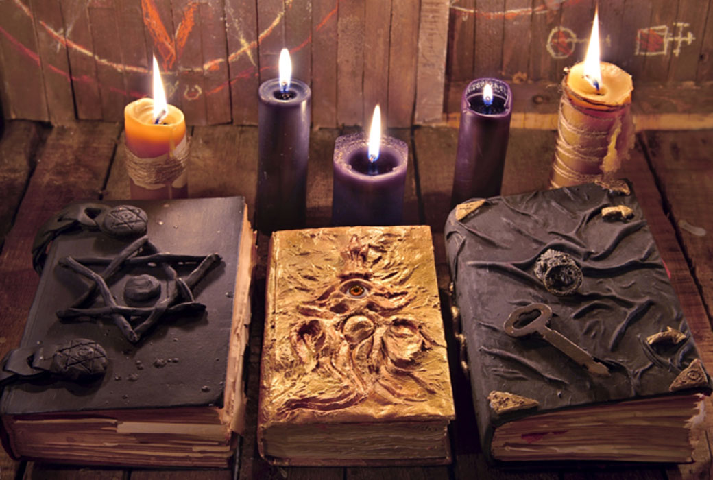 Icelandic books of magic, occult books.