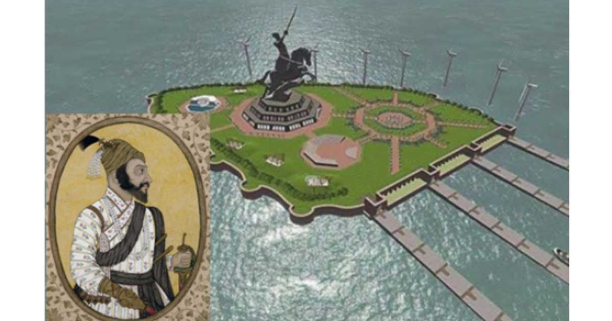 India to Build Immense Statue, Twice the Size of the Statue of Liberty, of Medieval King Shivaji