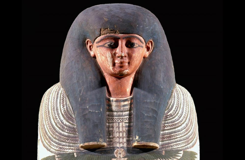 Irtieru's coffin is of fine quality, suggesting he was of high social status.