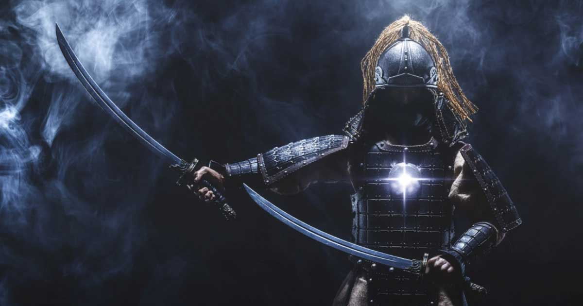 Japanese samurai warrior (brunogm / Fotolia)