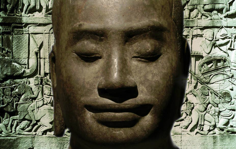 Presumed Portrait of Jayavarman VII