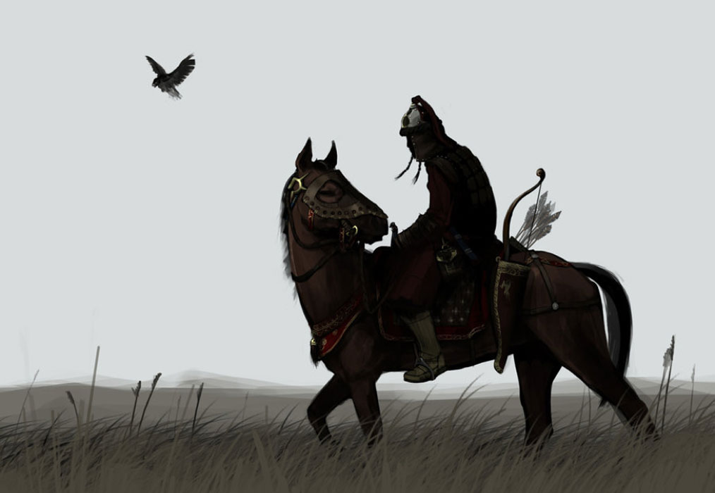 A Mongol warrior. Although Jebe started out as an enemy of the Mongols, he eventually became on the Genghis Khan's most trusted generals.