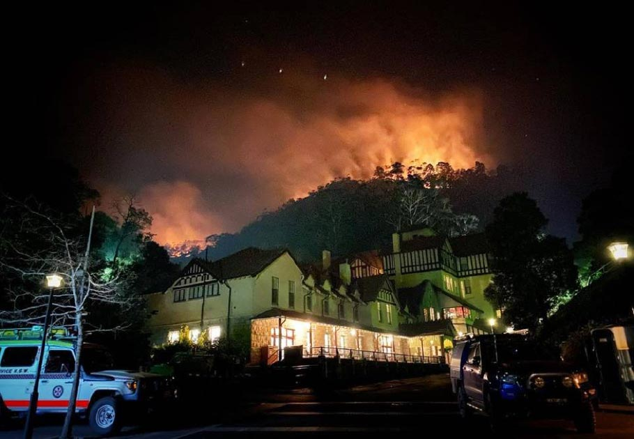 History Saved! Jenolan Caves Defended as Australian Fires Rage On