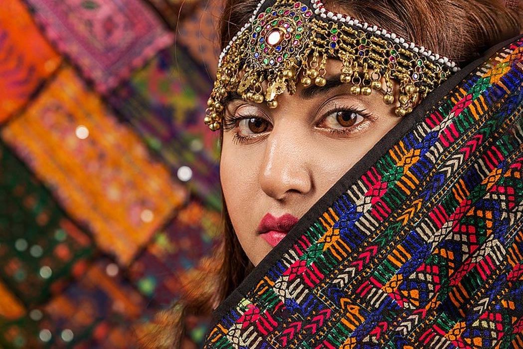Kalash woman. Kalash people have a fascinating history and culture.