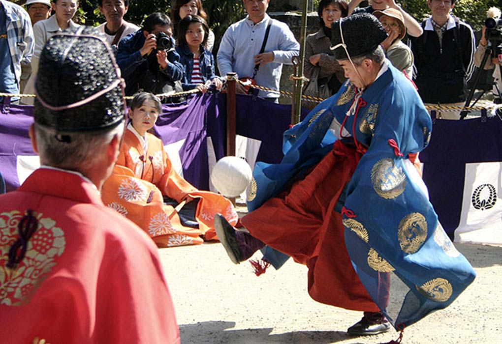 Kemari: Revival of a 7th Century Japanese Football Game in Modern Times