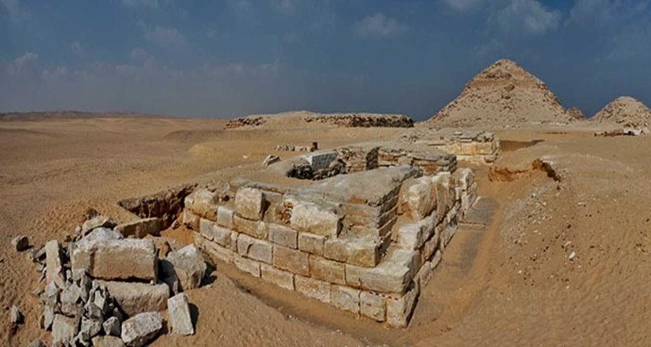 Panorama of the tomb of Khentkaus III.