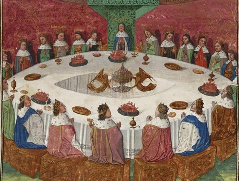Round Table La Mesa.Court Of King Arthur S Round Table Discovered Claims Bbc Presenter