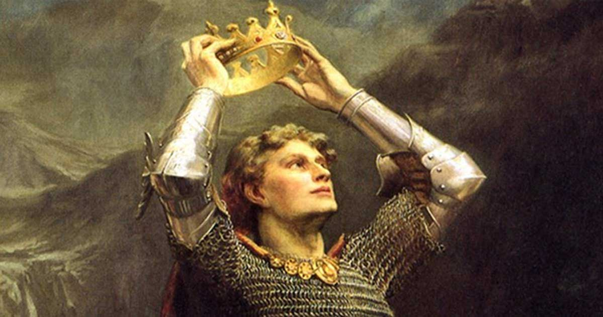 Most Famous Painting Of King Arthur