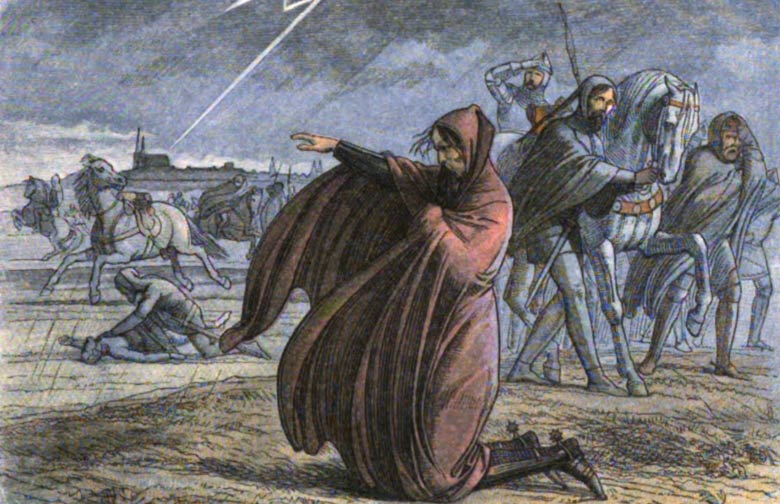 Today in history… apocalyptic storm 'a sign from God'?