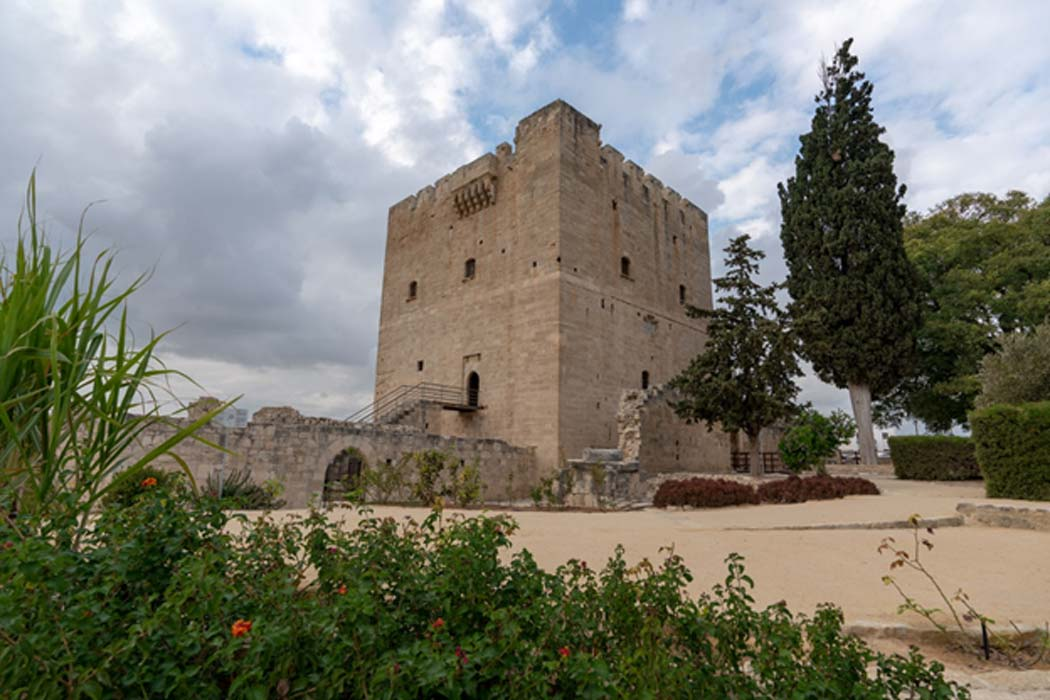 The keep of Kolossi Castle.