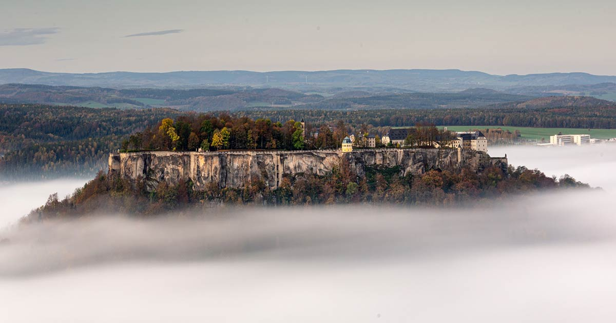 Trials of Germany's Impregnable Königstein Fortress