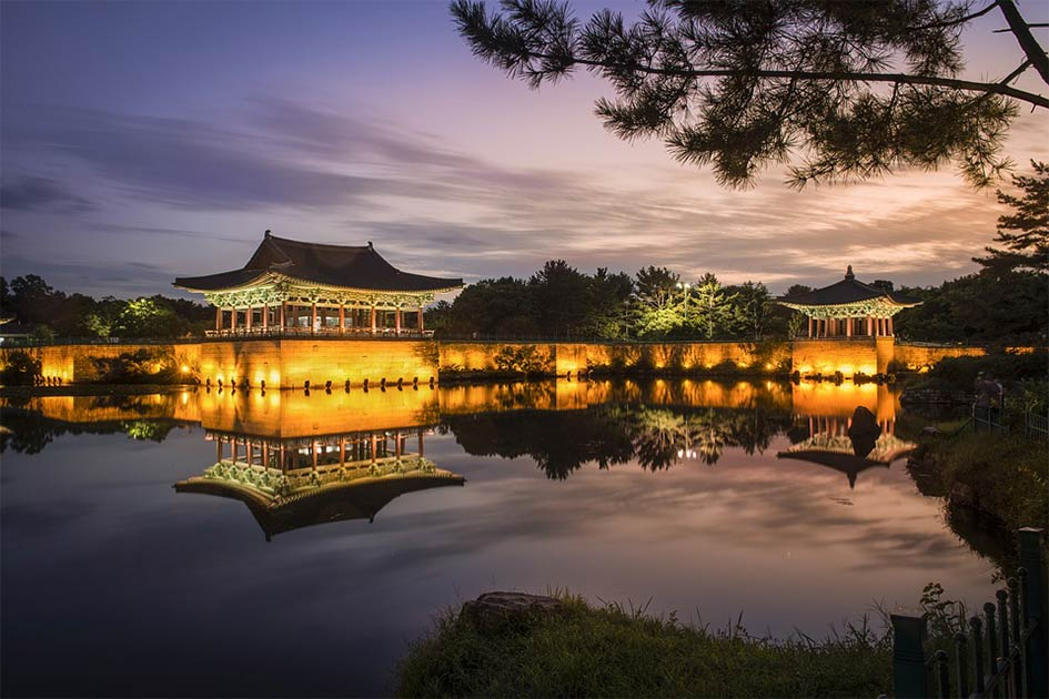 The Wolji (formerly Anapji) artificial pond located in Gyeongju National Park, South Korea, was constructed by the Silla Kingdom in 674 AD. The pond is not far from where the recent Korean kingdom finds were discovered.      Source: Pixabay