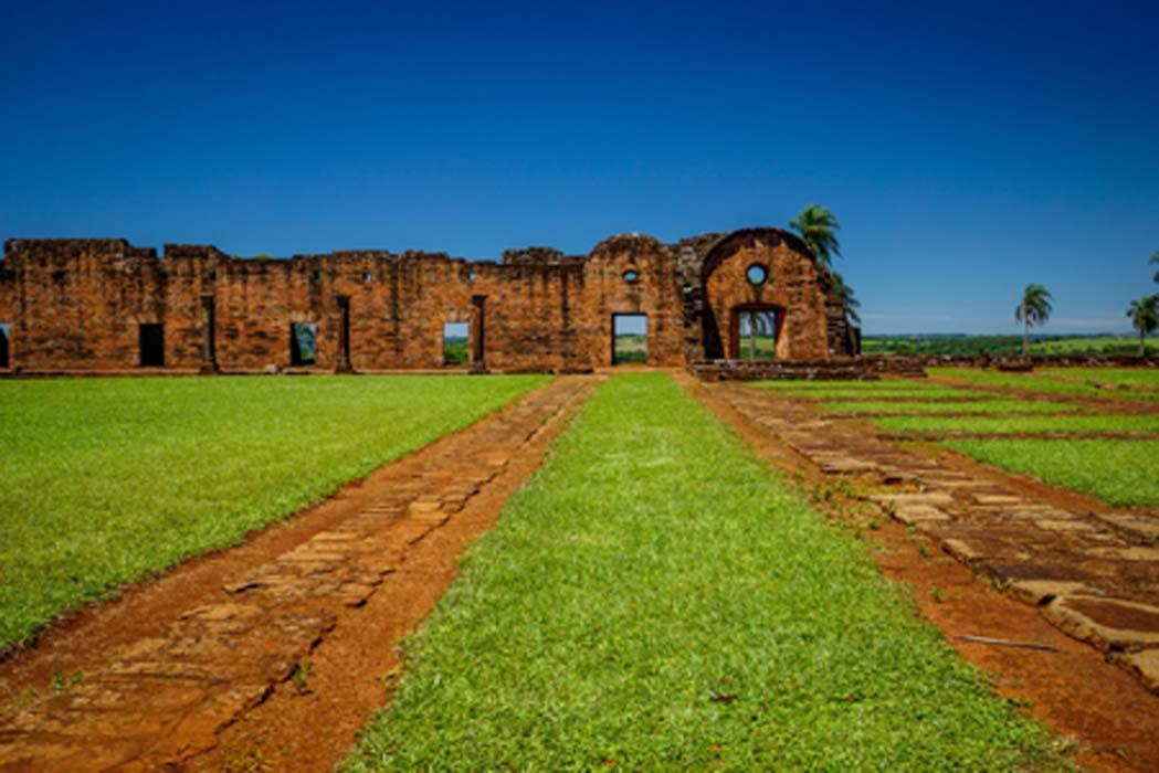 The ruins of Jesús de Tavarangue                              Source: Kylie / Adobe Stock