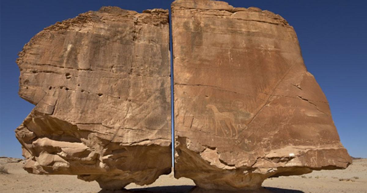 Cự thạch Al-Naslaa tại Arab Saudi. Phiến đá cổ đại thách thức khoa học hiện đại
