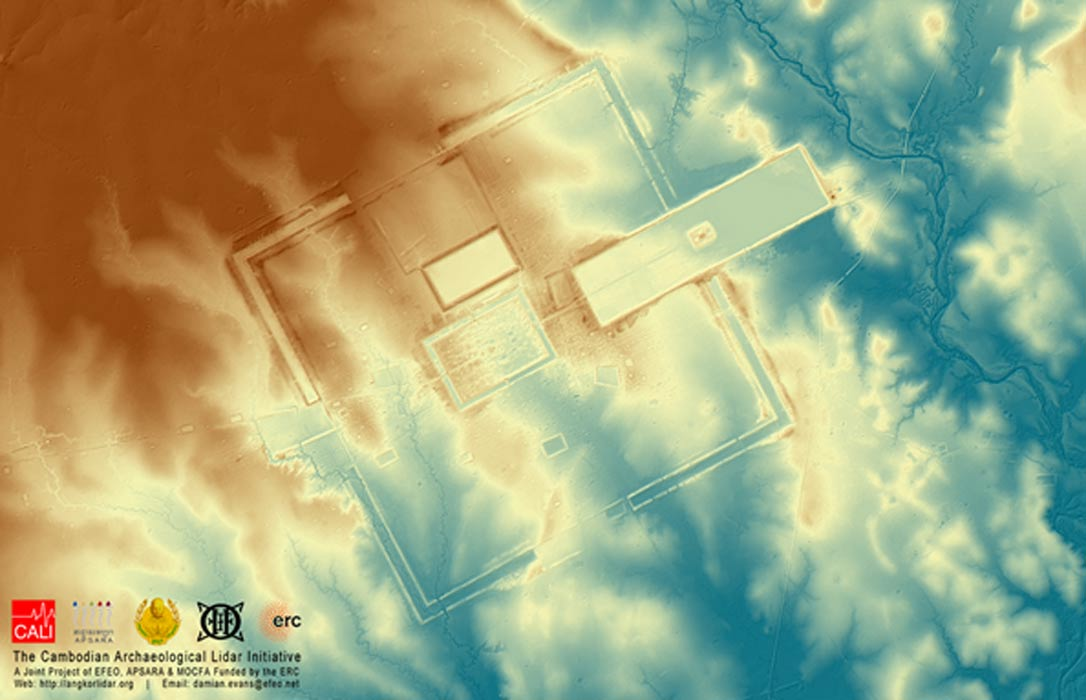 Laser Surveys in Cambodia Reveal Unparalleled Pre-Industrial Working of the Landscape