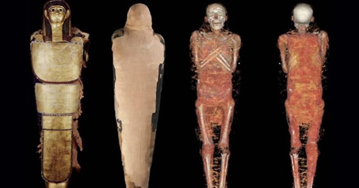 Topographical image analysis has now revealed that the mummy is Nespamedu