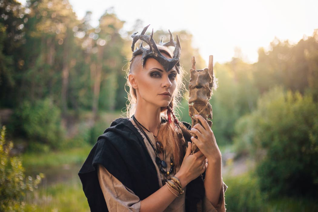 Representation of a female Viking magic practitioner