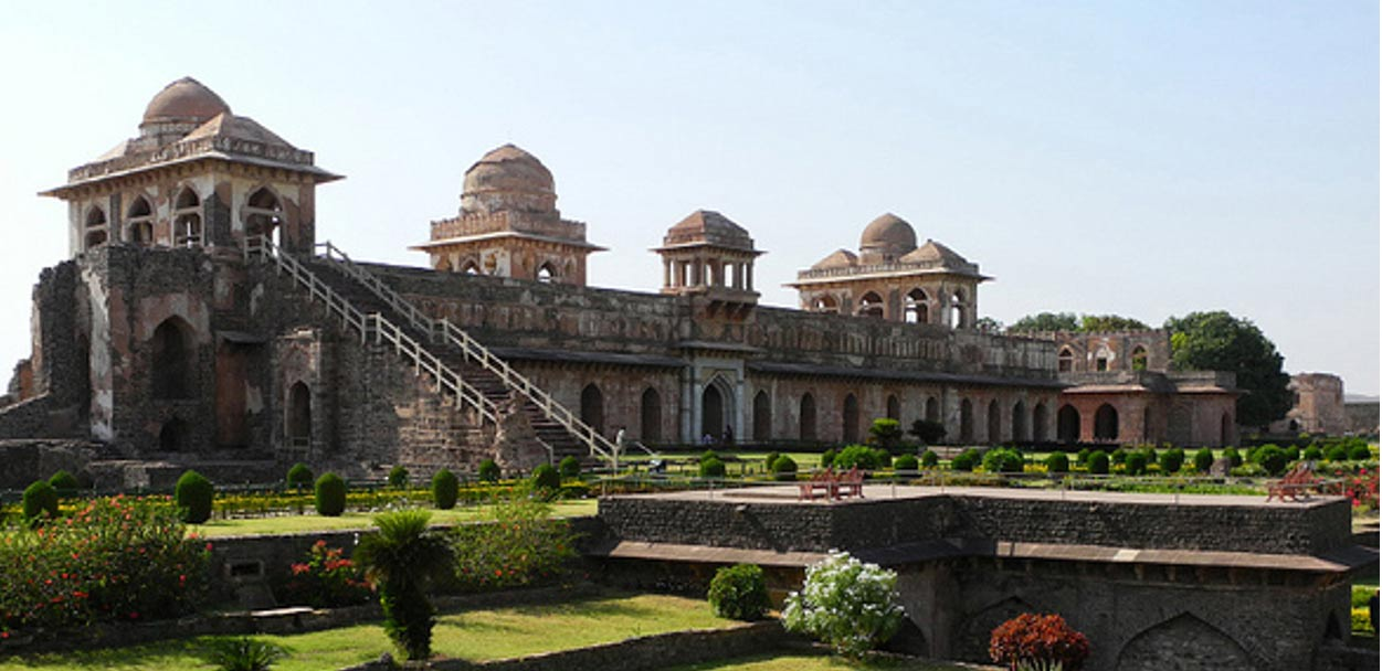 The Jahaz Mahal, Mandu, India
