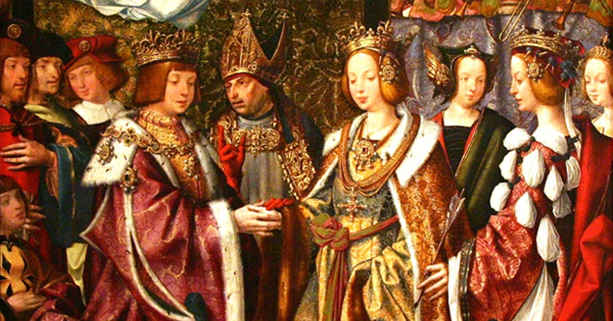 The Marriage of St. Ursula and Prince Conan, 1522