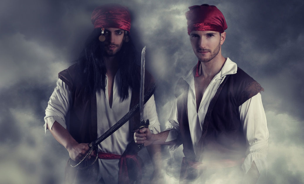 Matelotage is the marriage / civil union of two male pirates. Source: rdrgraphe / Adobe Stock.