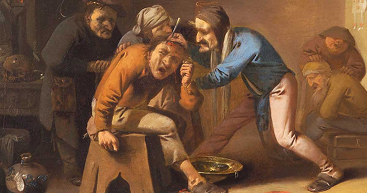 Extraction of the Stone of Folly