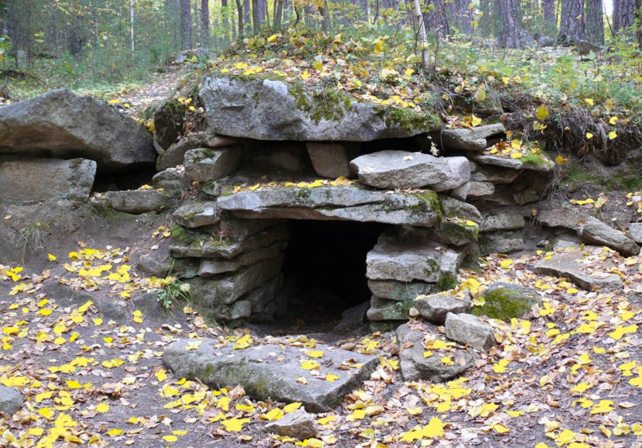 Megalithic structure on Vera Island