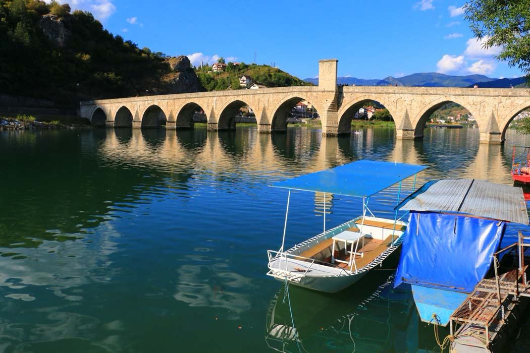 Mehmed Pasa Sokolovic Bridge in Visegrad               Source: Željko Radojko/Adobe Stock