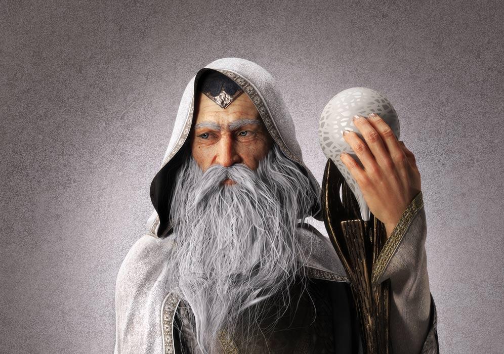 Merlin the Magician representation