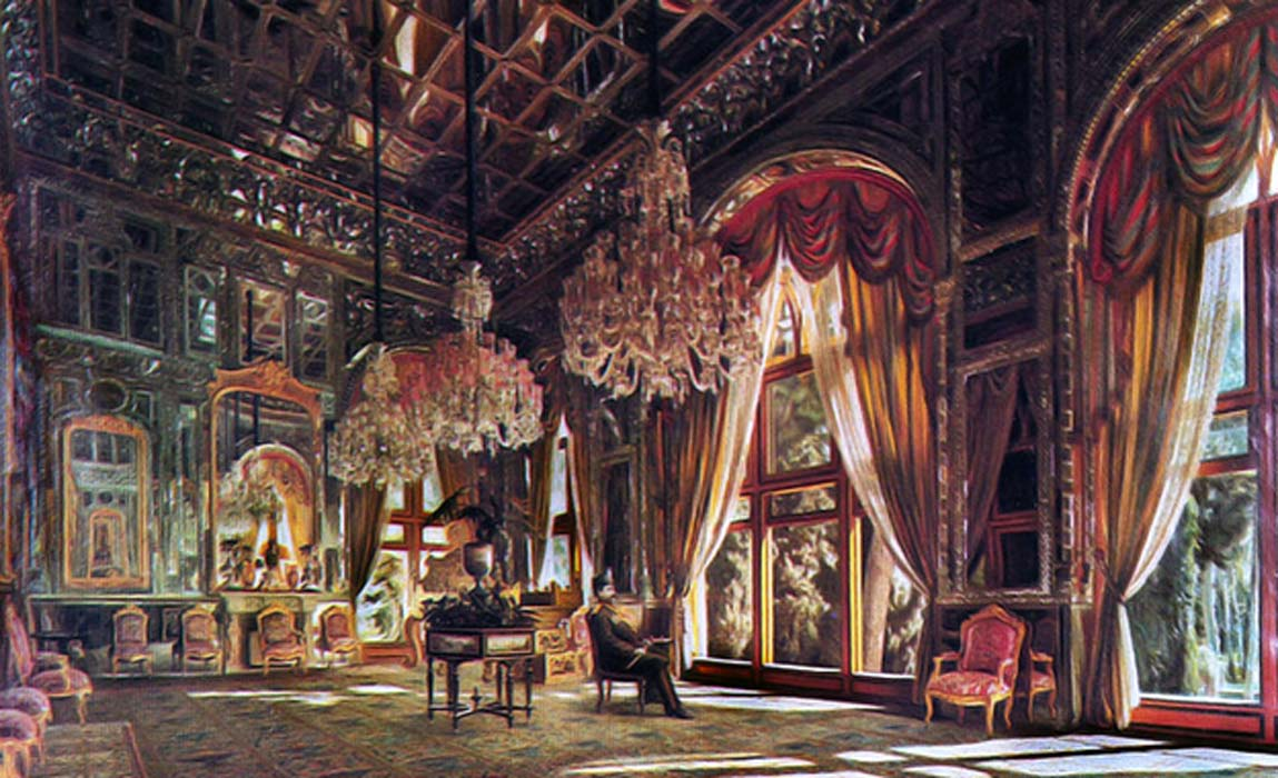What Wondrous Sights Have Been Seen in the Brilliant Hall of Mirrors at Lavish Golestan Palace?