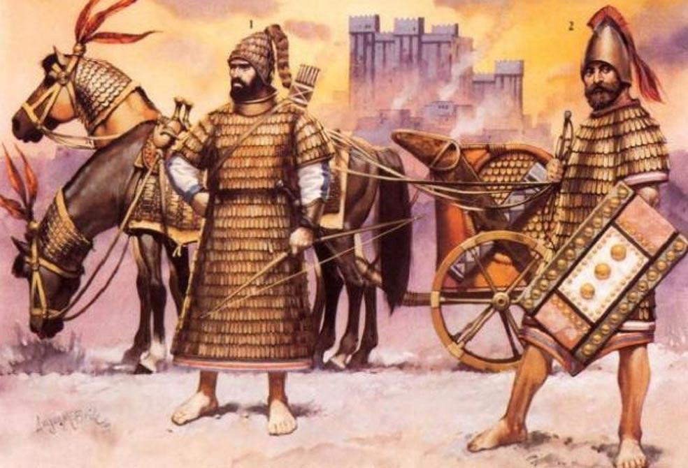 Mitanni invaders