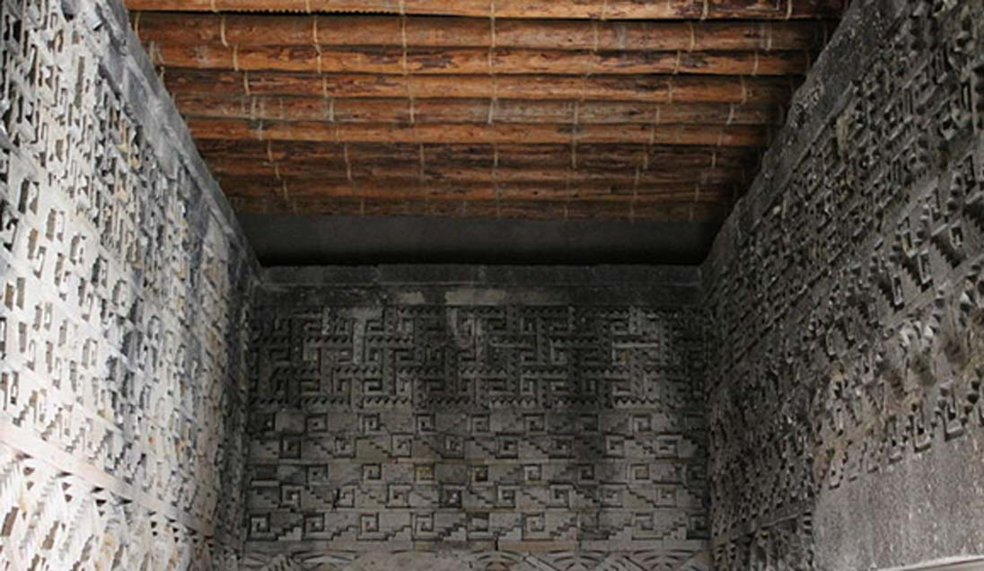 Some of the Mitla mosaics.