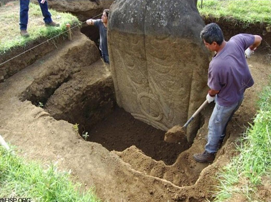 Easter Island Heads Have Bodies News