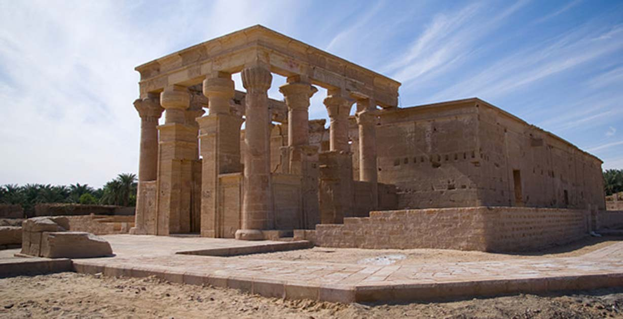 The Monumental Temple of Hibis: Memories of Glory Days by the Last Egyptian Pharaoh of Kemet