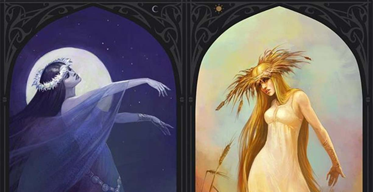 A Cycle of Life and Death: Slavic Goddesses Morana and Vesna