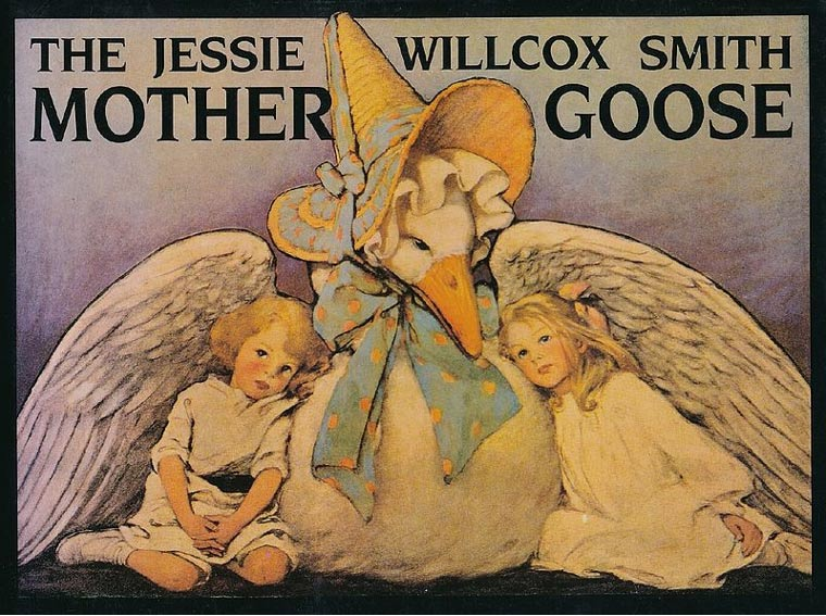 The Jessie Willcox Smith Mother Goose (1914) (Wikimedia Commons)