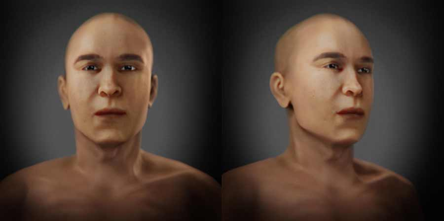 Revealing the Face and Identity of the Controversial Mummy KV55