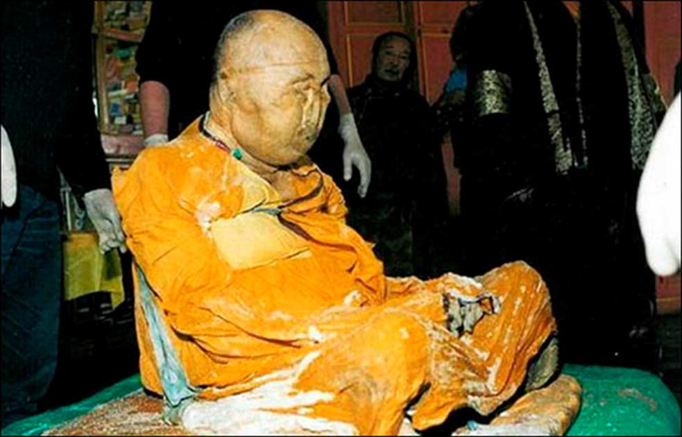Has the 164-Year-Old Mummy of Buddhist Lama Dashi-Dorzho Itigilov Moved Inside His Palace?